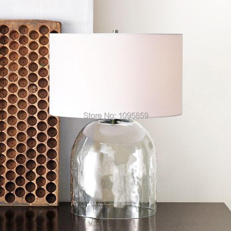Exceptional Modern Glass Vase Dininng Room Table Lamp Bedroom Restaurant White Table  Light Lighting