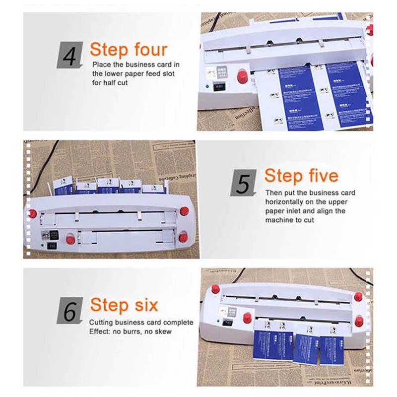18W Automatic Tape Dispenser Electric Adhesive Tape Cutter Cutting Machine 5 999mm FZ 209 Can cut fine glue short adhesive tape - 5