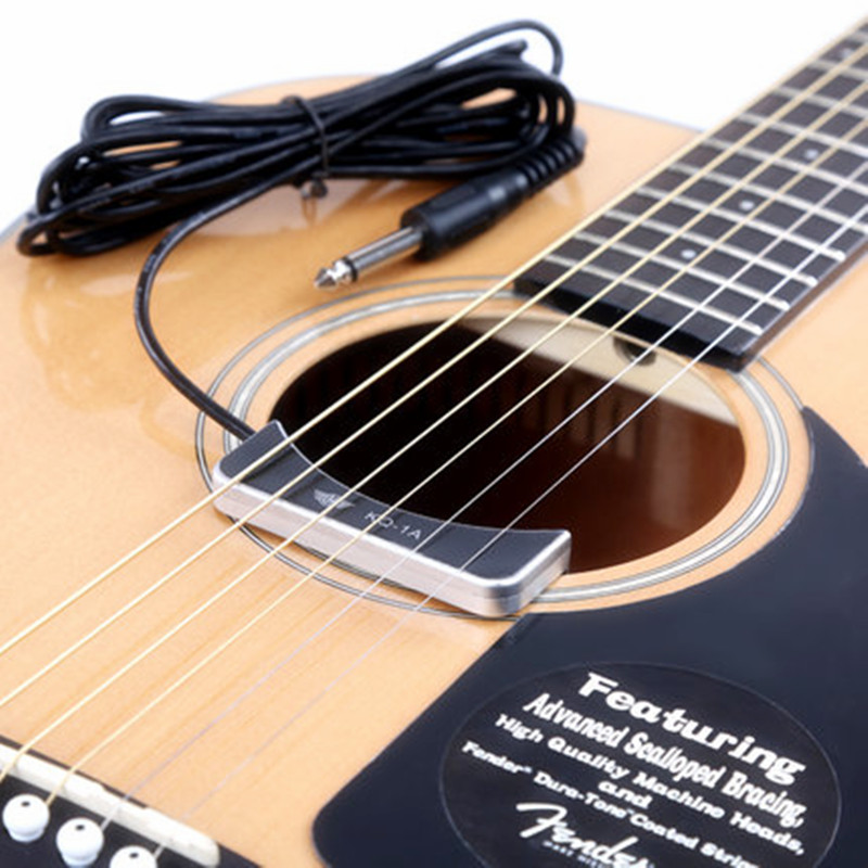 classical acoustic guitar pickup high sensitivity low noise sound hole acoustic pickup guitar. Black Bedroom Furniture Sets. Home Design Ideas