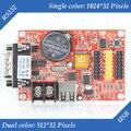 HD-S61 (HD-S3) с Одним и Двумя цвет Последовательный Порт RS232 и USB светодиодный контроллер дисплея