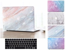Fashion Marble Pattern Hard Shell Case Keyboard Cover Skin Set Fit For 11 12 13 15″ Apple Macbook Air Pro Retina Touch Bar Gift