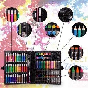 Image 4 - Inspiratie Art Case, Roze Draagbare Art Studio, 150 Art Set & Coloring Levert Art Gift Voor Kids 4 & Geweldig Voor De Artis