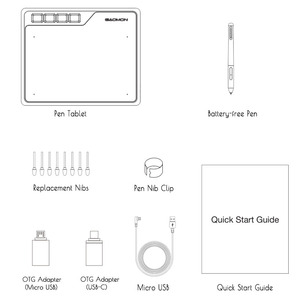 Image 4 - GAOMON S620 6,5x4 Zoll Digital Board Unterstützung Android Telefon Windows Mac OS System Grafik Tablet für Zeichnung & spielen OSU