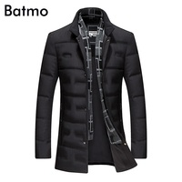 Batmo 2018 new arrival winter high quality 80% white duck down jacket men,winter men's coat ,plus size M,L,XL,XXL,XXXL 8903