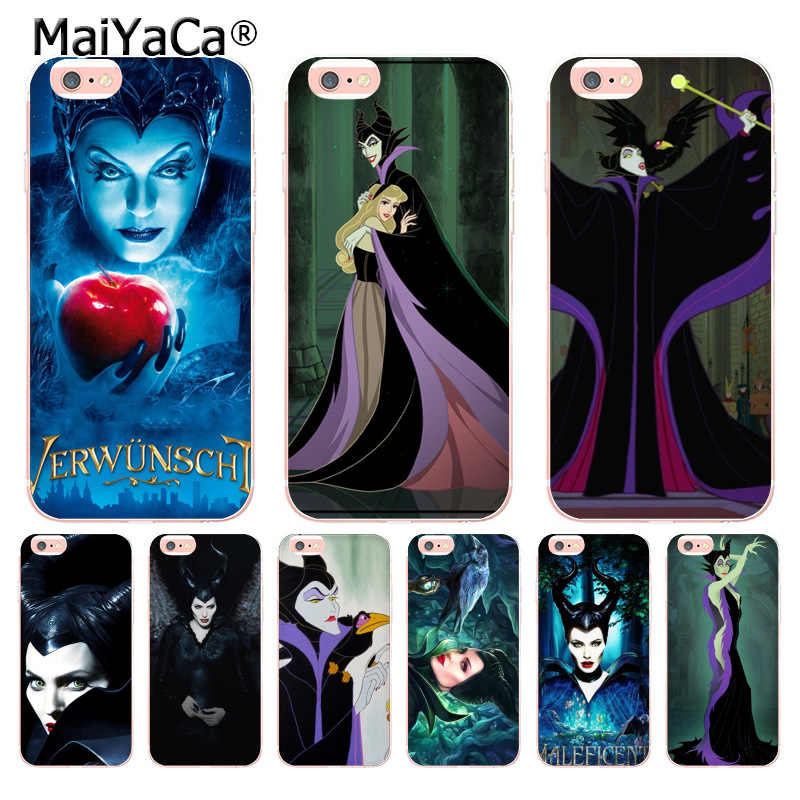 Maiyaca The Witch Maleficent Unique Design Newest The Fashion Phone Case For Iphone 8 7 6 6s Plus X 10 5 5s Se 5c Case Coque