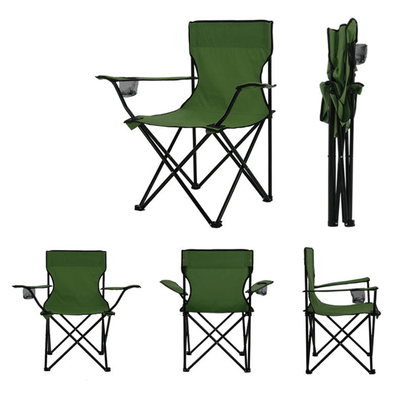 Image 2 - Lightweight Fishing Chair Pop Up Camping Stool Folding Outdoor Furniture Garden Portable Ultra Light Chairs Picnic Beach 4 Color-in Beach Chairs from Furniture