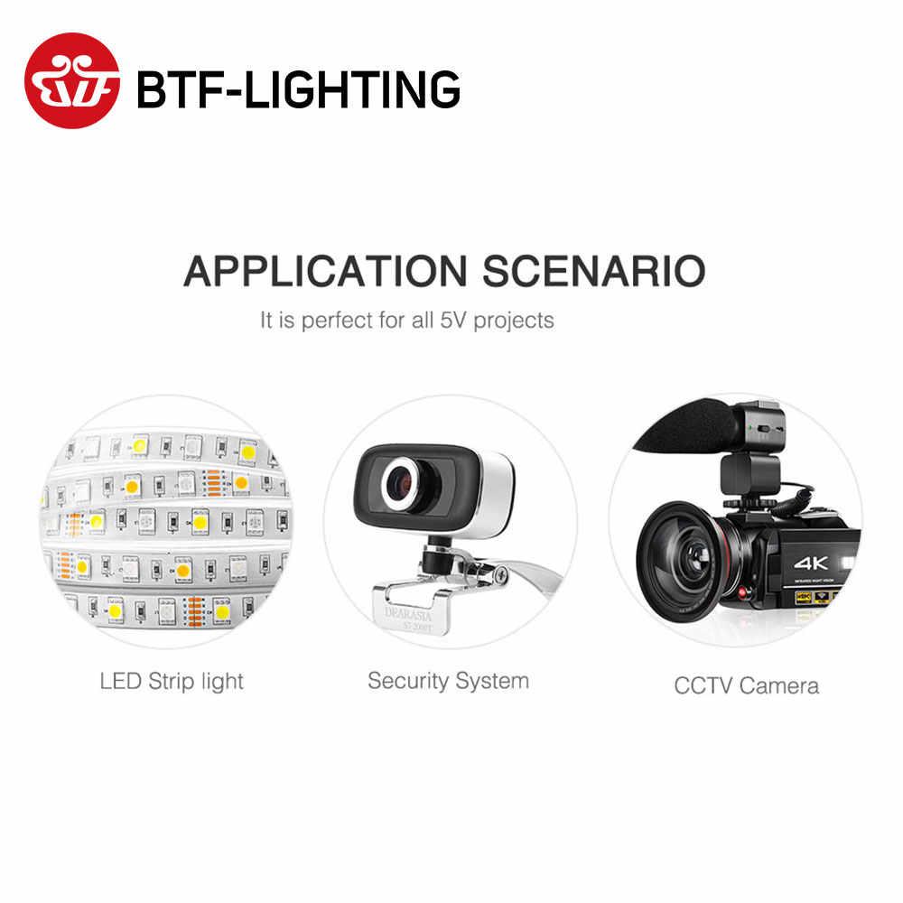 5V zasilacz LED 1A/2A/3A/6A/8A/10A przejściówka WS2812B WS2811 SK6812 LPD8806 WS2801 taśmy LED światła