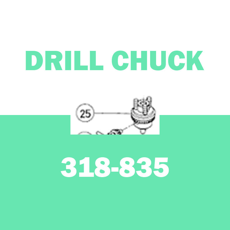 Genuine DRILL CHUCK for Hitachi 318835 D10YB Reversible Right Angle Drill Parts Electric Drill electric drill hitachi d13vg
