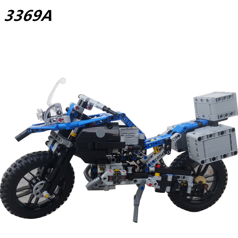 AIBOULLY New 3369 3369b High Technic 2 in 1 warrior off-roader racer Car Model 3D building block Warrior sport car brick toys