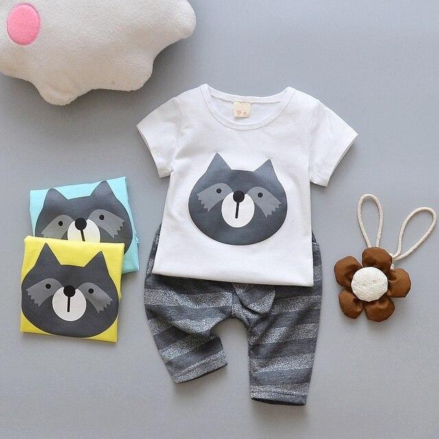 daa66db10 Summer baby Clothing set Newborn Baby Boys Girls Clothes Sets ...