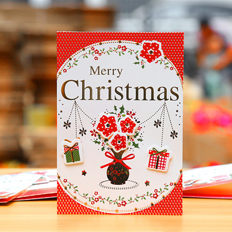 Lovely design cute small paper gift cards colorful mini cartoon lovely design cute small paper gift cards colorful mini cartoon santa claus greeting card merry christmas card in cards invitations from home garden on m4hsunfo