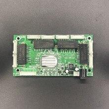 OEM komisji budowania pokoju 4/8 portowy przełącznik Gigabit Ethernet Port z 4/8 pin way nagłówek 10/100/1000 m Hub 4/8way power pin płytki Pcb OEM otwór na śrubę