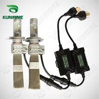 12V 24V 72W Car LED Headlights High Low H4 Bulb Car Fog Lamp Track HeadLight Lamp