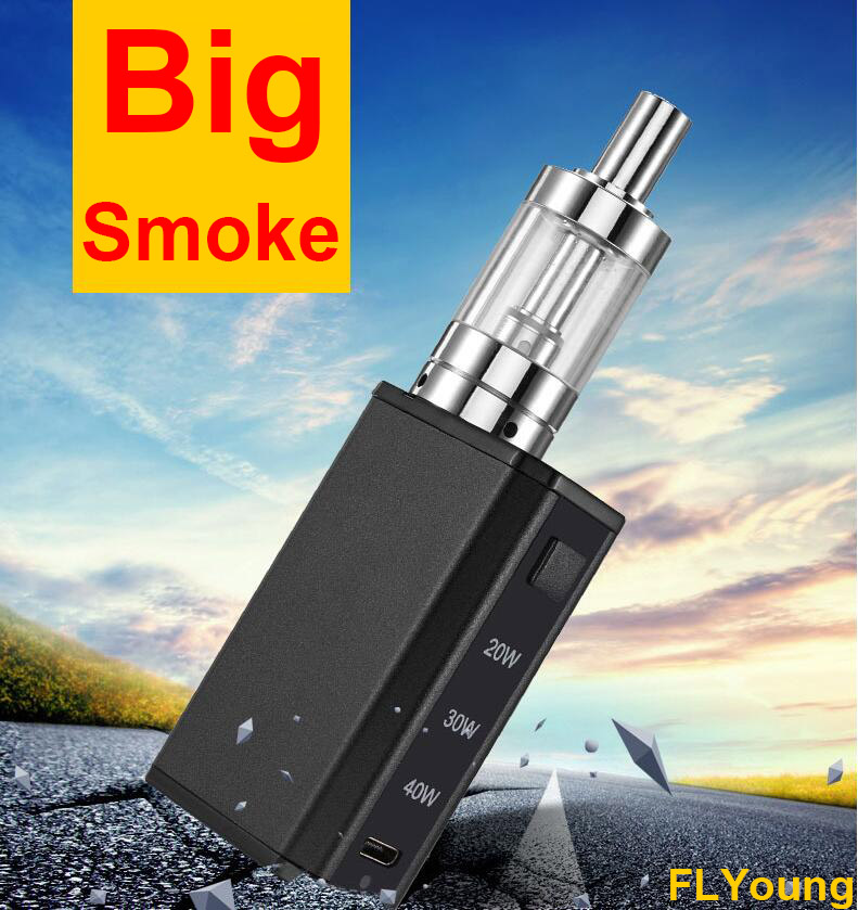 High Quality Box Mod Kits Electronic Cigarette Vapor Big Smoke Vaporizer Hookah Vape Shisha Pen Original Flyoung F4 E Cigarettes