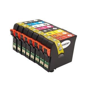 Image 4 - 8PK T1590 1590 cartucce di inchiostro Per Epson STYLUS PHOTO stampante R2000 T1590/T1591/T1592/T1593/T1594/T1597/T1598/T1599 cartuccia di inchiostro