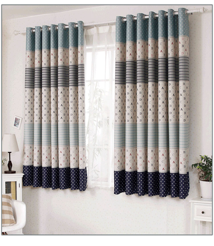 Great Aliexpress.com : Buy 2015 Included Curtains Para Four Seasons Full Blackout  Short Study Bedroom Dining Striped Hotel Home Modern Punching Hospital From  ...