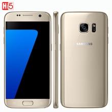 Оригинальный Samsung Galaxy S7 Водонепроницаемый мобильный телефон 5.1 дюймов 4 ГБ ОПЕРАТИВНОЙ ПАМЯТИ 32 ГБ ROM Quad Core NFC WIFI GPS 12MP 4 Г LTE смартфон