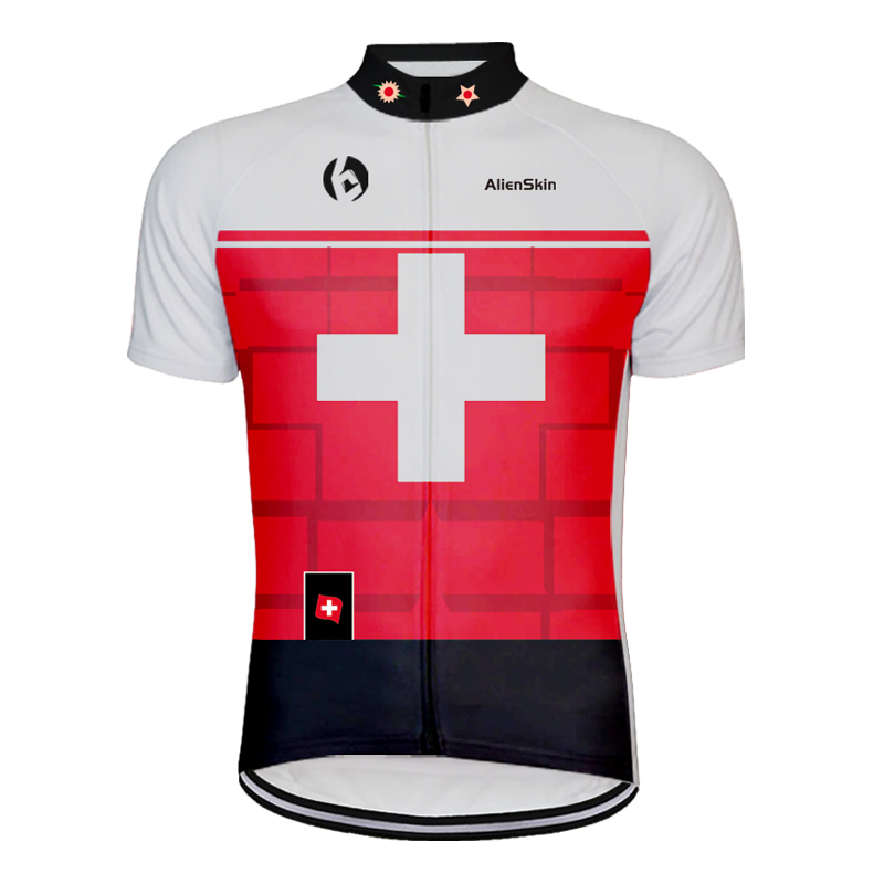 alienskin Mountain Bike Cycling Jersey Shirt Summer Breathable Cycling Clothing Pro Team MTB Bicycle Jersey Top Maillot Ciclismo in Cycling Jerseys from Sports Entertainment