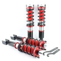 Full Set Adjustable Height Coilover Spring Kit Coil Shocks Suspension For Honda Civic 92 00 Del Sol 92 97 Acura Integra 94 01