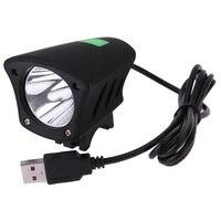 T6 Lamp Bead USB Bike Front Head Light Bicycle Riding Night Lighting Bulb 7000k