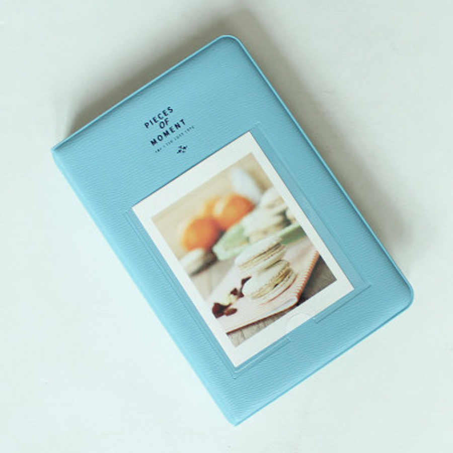 64 Pockets Book Album for Fujifilm Instax instant Mini 9 8 7s 70 25 50s 90 Mini Films 3/4 inch Photo paper