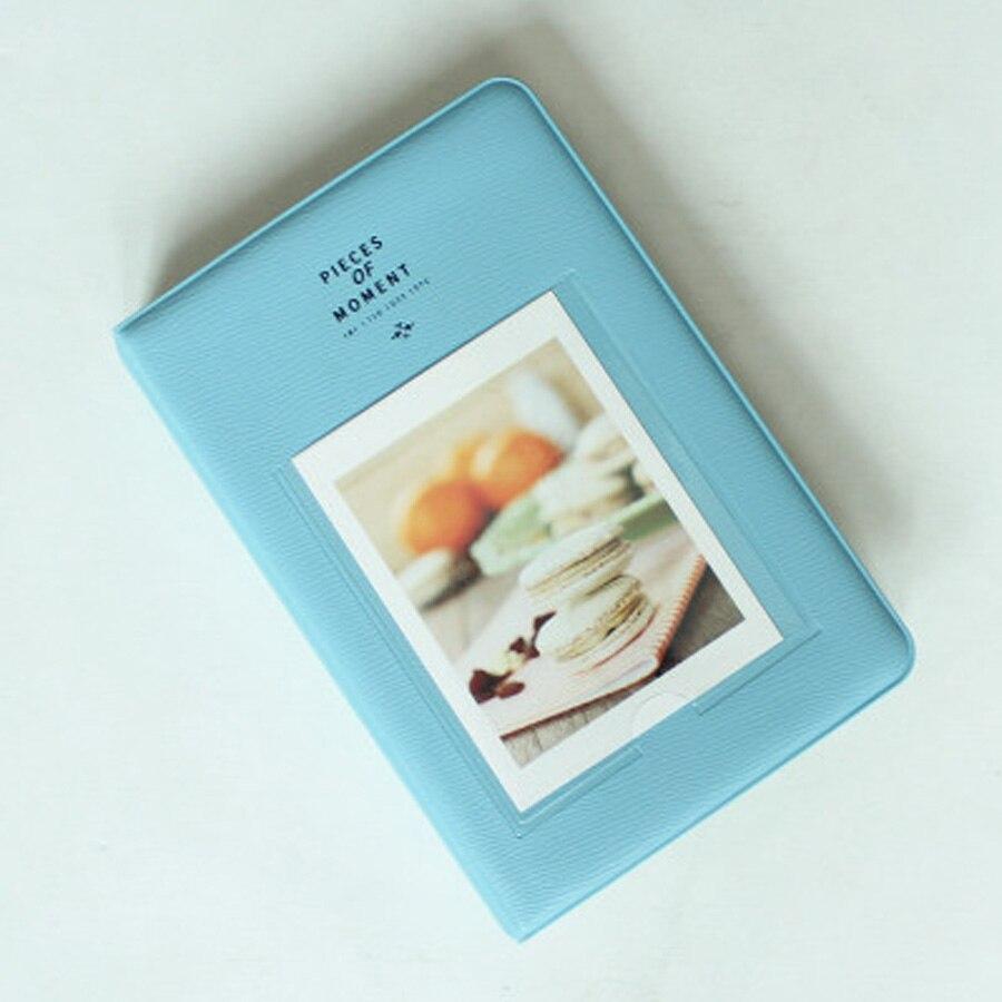 64 bolsillos álbum de libro para Fujifilm Instax instant Mini 9 8 7s 70 25 50s 90 Mini películas papel fotográfico de 3/4 pulgadas
