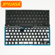 New Keyboard Laptop Hungary Macbook Apple Backlight A1502 with for Retina 10pcs/Lot 13-