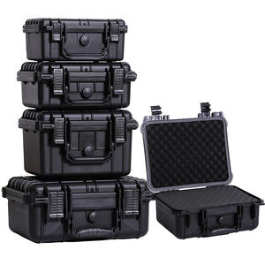 Case Tool-Box Sealed Safety-Equipment-Instrument Pre-Cut-Foam Abs-Plastic Impact-Resistant