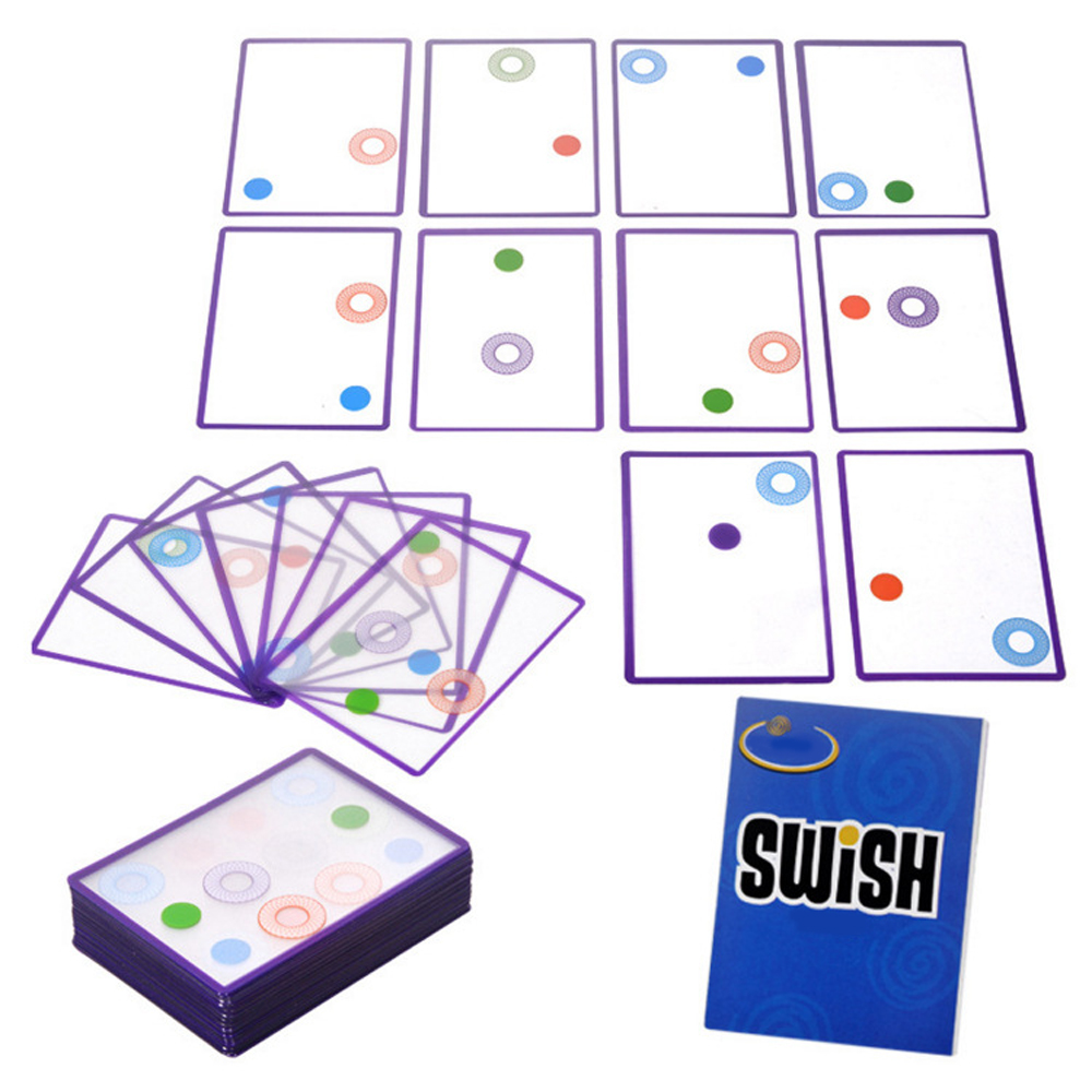 popular family fun party table game board game playing swish cards junior think visual spatial challenge train brain castles of burgundy board game 2 4 players cards games send english instruction funny game for party family with free shipping