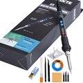 90 W 220 V Kit de fer à souder électrique à température réglable poste de soudure outils de réparation de crayon à chaleur