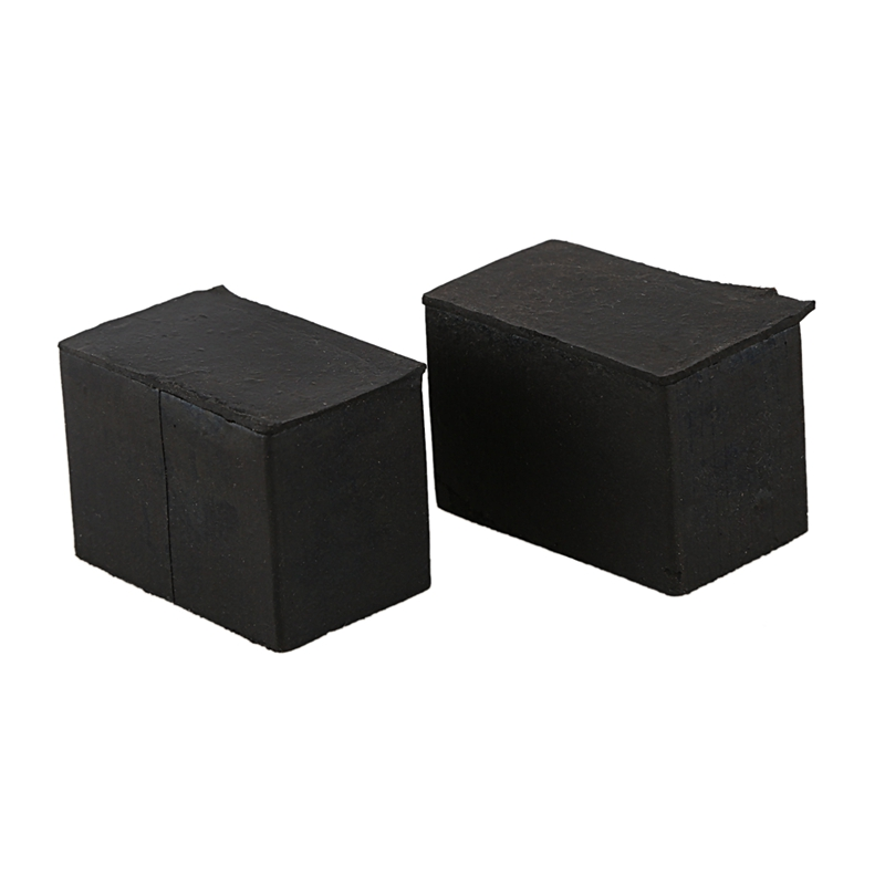 Rectangular Rubber Protections For Furniture Chair Legs 30mm X 15mm 2 Pieces