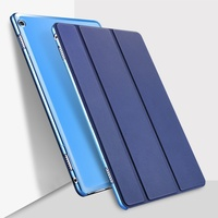 Matte Translucent Back Cover Supper Slim Lightweight Smart Stand Case With Auto Sleep Wake Feature For