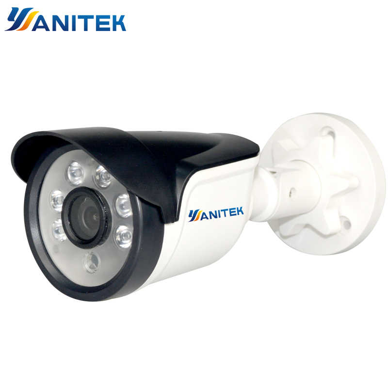 Yanitek 1080P 960P 720P Email Alert XMEye ONVIF P2P Motion Detection RTSP  48V POE Surveillance CCTV Outdoor 2MP IP Camera