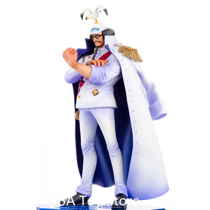 Anime One Piece POP Naval Headquarters Sengoku PVC Action Figure Collectible Model Doll Toys 27cm цена