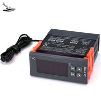 Universal Automatic Digital Temperature Controller Thermostat 12V 110V 220V Control Switch 22