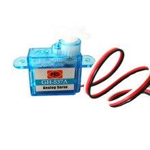 10 cái/lốc Thu Nhỏ GH S37A GH S43A GH 3.7 gam/4.3 gam Micro Analog Servo Cho RC Máy Bay Máy Bay Trực Thăng 30% off