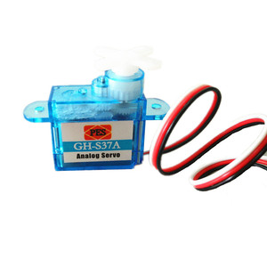 Image 1 - 10pcs/lot Miniature GH S37A GH S43A GH 3.7g/4.3g Micro Analog Servo For RC Airplane Helicopter 30% off