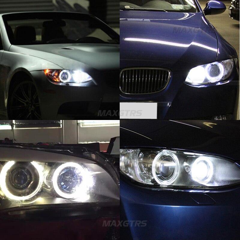 BMW E90 E91 Avtomobil Üslubu üçün 2x 6W 12W LED Halo Ring Marker - Avtomobil işıqları - Fotoqrafiya 6