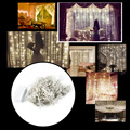 High Quality 110V 3 x 3M 300LED Outdoor Holiday Decorative Light Beautiful Curtain String Fairy Light For Wedding/Party/Garden