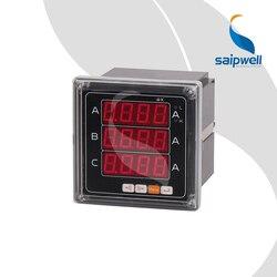 72 typ trójfazowego prądu amperomierz  AC220V przemysłowe amperomierz instrumentem elektronicznym 72*72*90 (SP-723A)