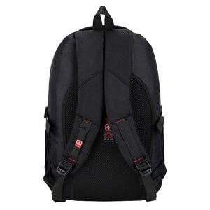 Image 3 - Mochila masculina sacos de viagem masculino multifuncional 15.6 polegada portátil à prova doxford água oxford computador mochilas para adolescente menino
