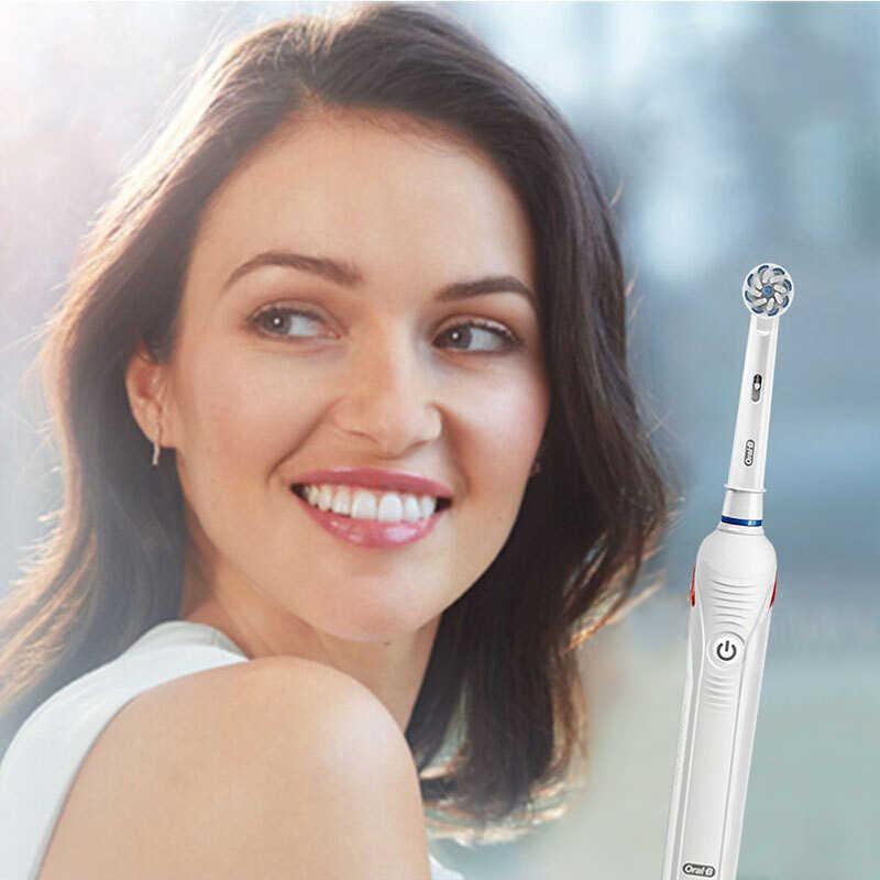 عن طريق الفم B Pro4000 3D فرشاة أسنان كهربائية بالموجات الصوتية الطاقة قابلة للشحن LED الذكية الموقت للماء لينة الشعر الخشن عميقة نظيفة نظافة الفم