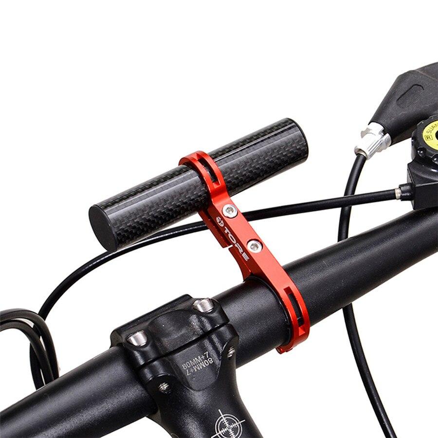31.8 MM Sport En Plein Air Vtt Lampe de Poche Titulaire Guidon Accessoires Vélo Extender Mont Mount Bracket
