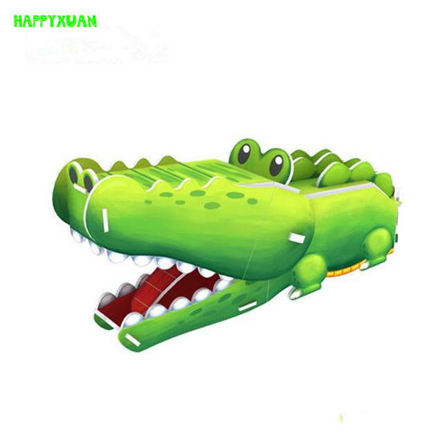 3D paper puzzle Cubic fun of Animal model crocodile K1502h puzzle Educational Toys for Children's Christmas gifts