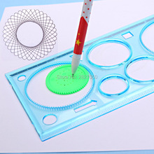 Puzzle Spirograph Geometric Ruler Drafting & Drawing Tools for Toddlers & Kids – Educational Toy