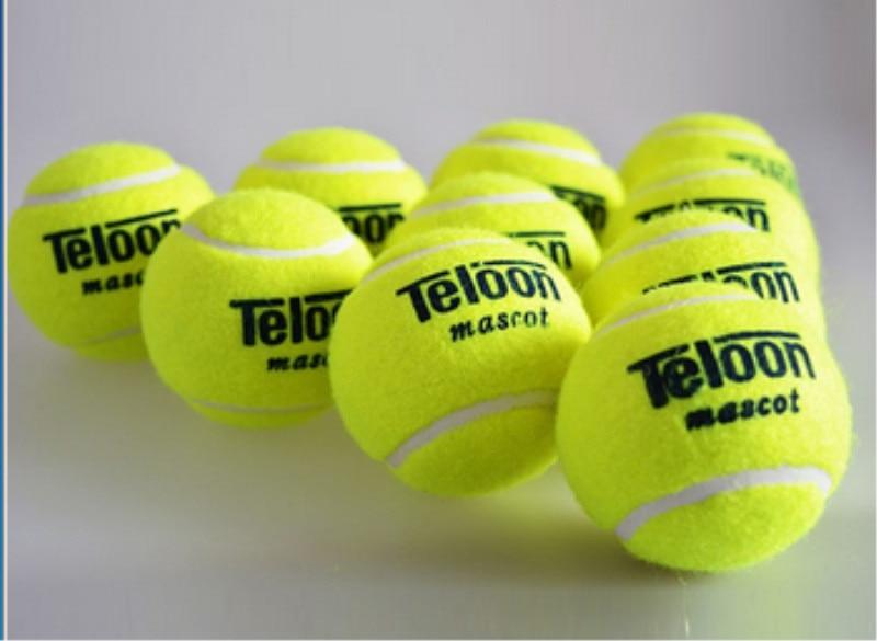 Марка Качество Теннис мяч для тренировок 100% синтетического волокна хорошее резиновая конкурс Стандартный теннисный мяч 1 шт. Выгодная цена ...