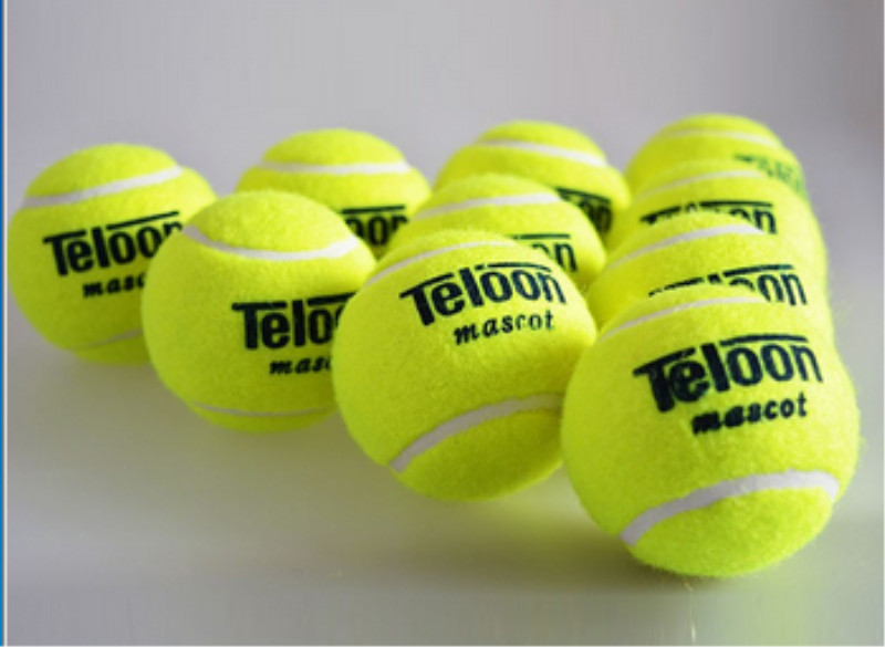 Brand Quality Tennis ball for training 100% synthetic fiber Good Rubber Competition standard tenis ball 1 pcs low price on sale ...