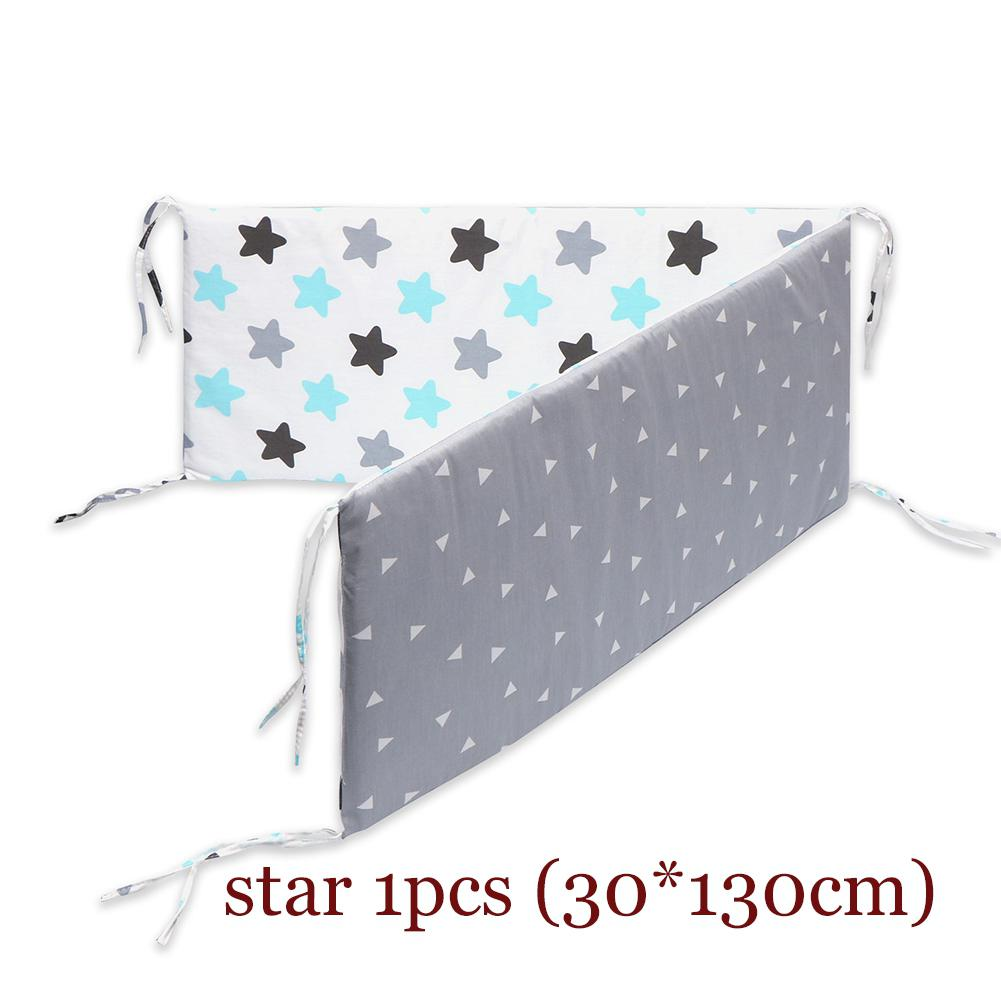 1Pcs Newborn Baby Safety Bed Fence Washable Guardrail Kids Playpen Crib Bumpers Infant Child Care Barrier Protector for Beds