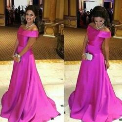 N615 Новое поступление онлайн арабский Стиль длинное вечернее платье 2019 Кепки рукава Sexy спинки на продажу магазины Пром вечерние платье