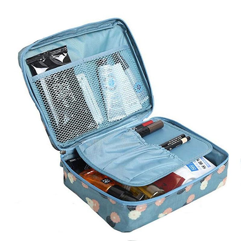 2017 Travel Bags Cosmetic Bags Multifunction wash bag Women Makeup portable Bag toiletry Storage waterproof LS8973mf